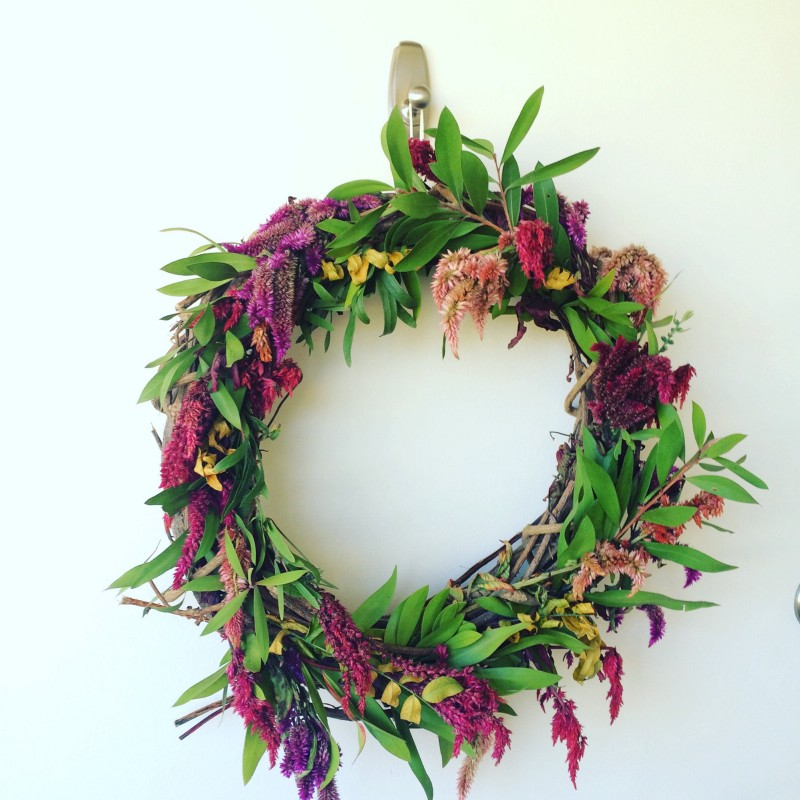 My wreath for 2016 autumnal equinox