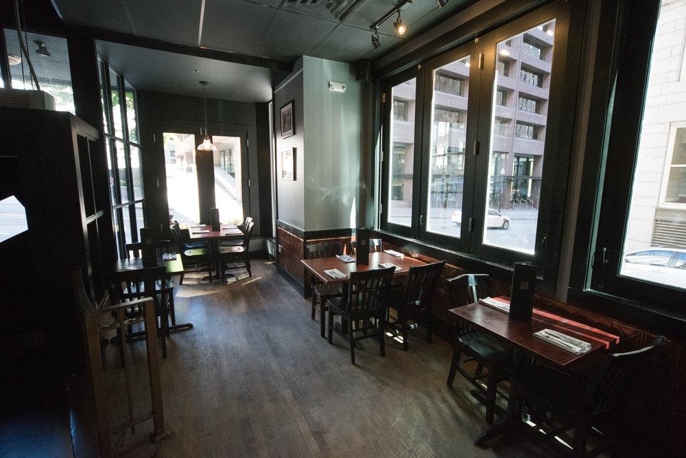 Event venue, 6B Lounge located in Boston's Beacon Hill