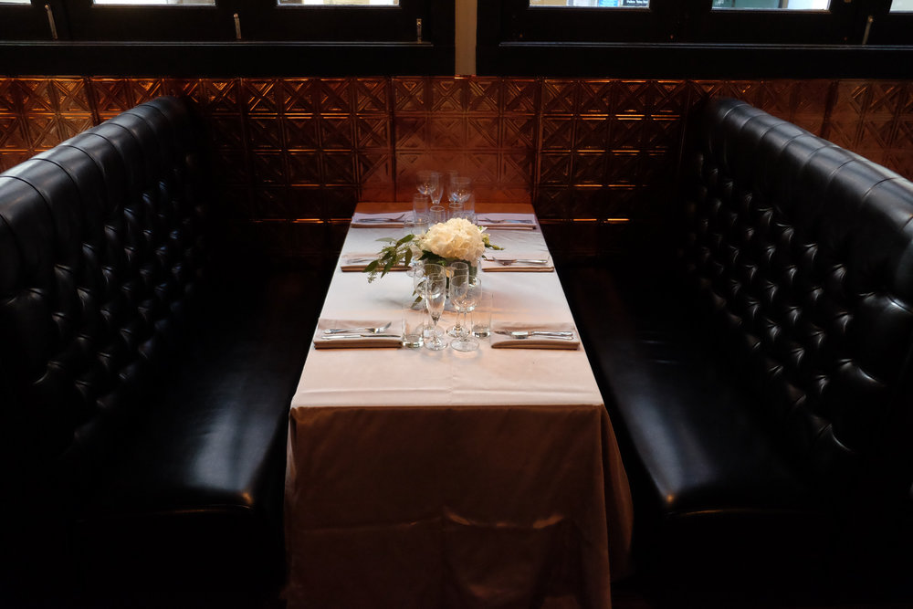 Classy and sophisticated private events here at 6B Lounge, located in Boston's Beacon Hill