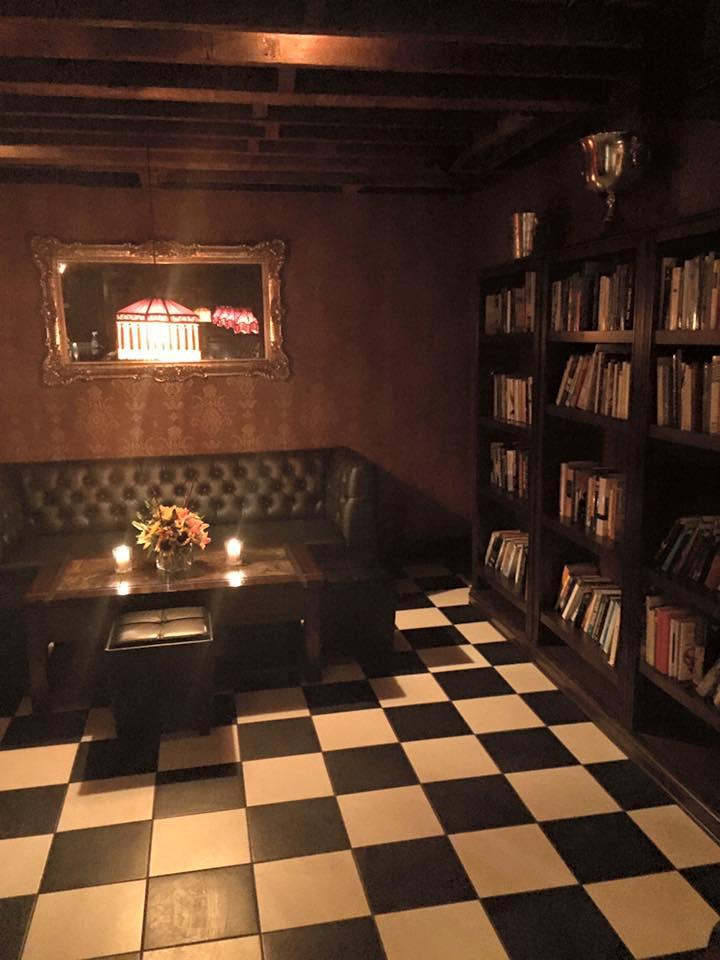 Interior look at Brookline event space, The Ellis Room