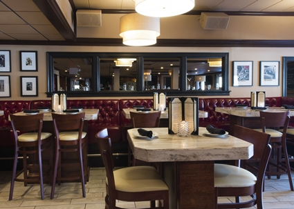 The interior of event venue, Emmets, of Norwood, MA