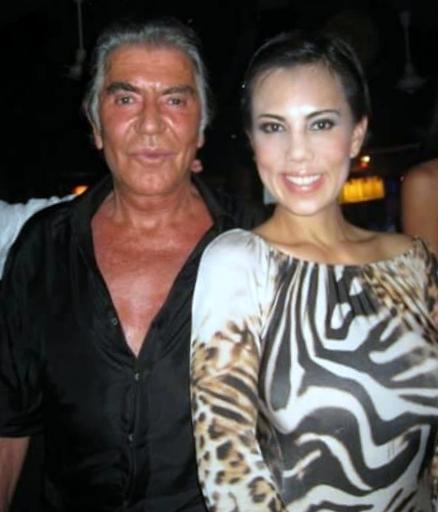 Trang Phung and Roberto Cavalli