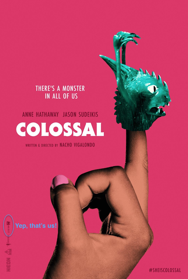 colossal poster legion m