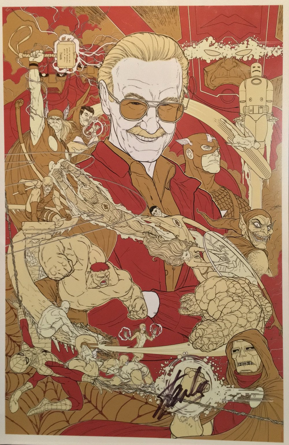 24 - Stan Lee SDCC 2013 Art Print from Sideshow 1.jpg