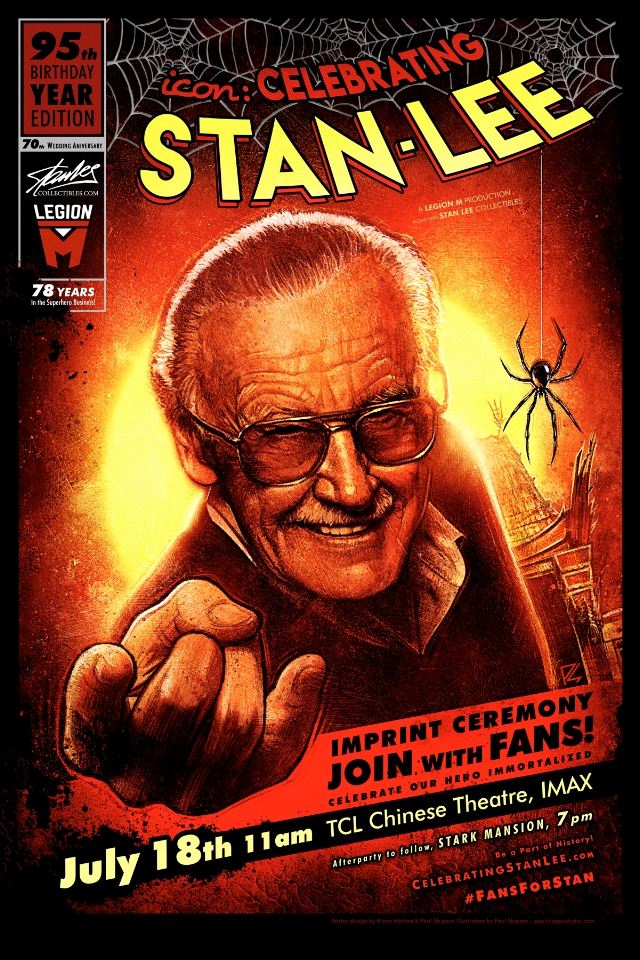 celebrating stan lee poster