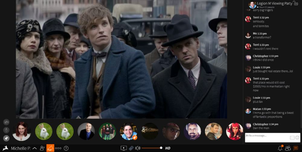 Legion M - September Virtual Viewing Party - Fantastic Beasts.png