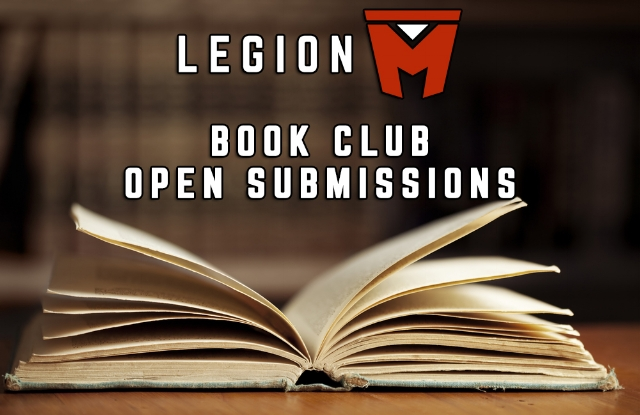 legion m book club open submissions