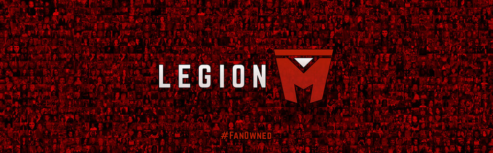 This Legion M photo mosaic   (click to enlarge) appears in the end credits of Mandy, which  premiered at the 2018 Sundance Film Festival .