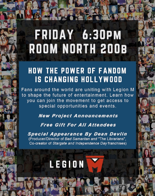 wondercon flyer legion m