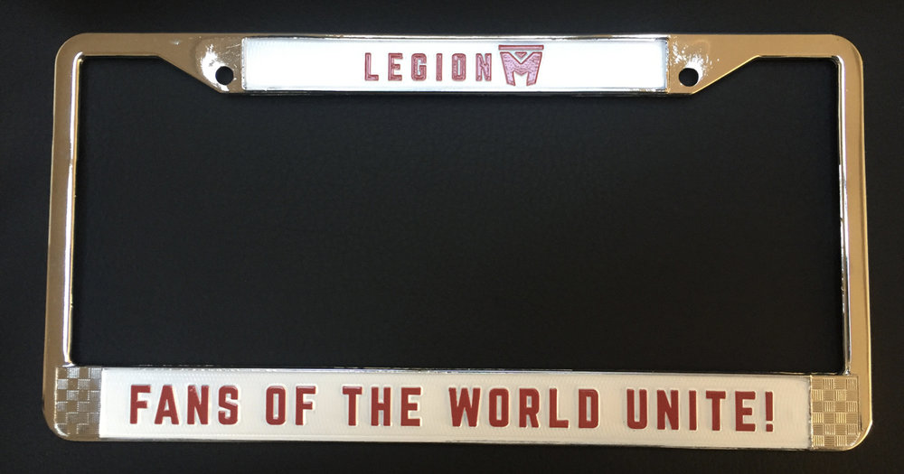 Metal License Plate Frame - $16