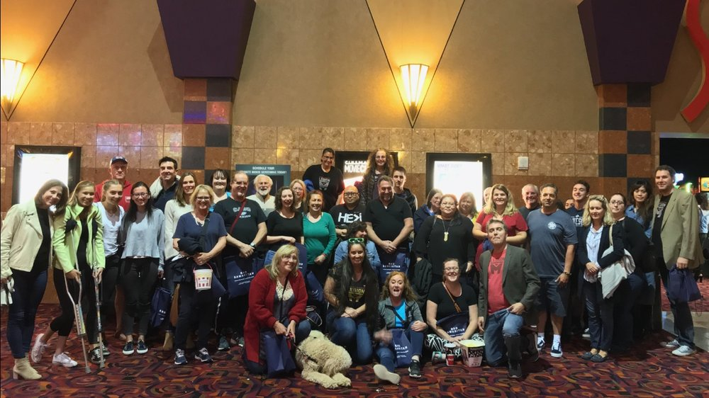 Legion M volunteers organized over 130 meetups around the country to    support the opening weekend of Bad Samaritan   !