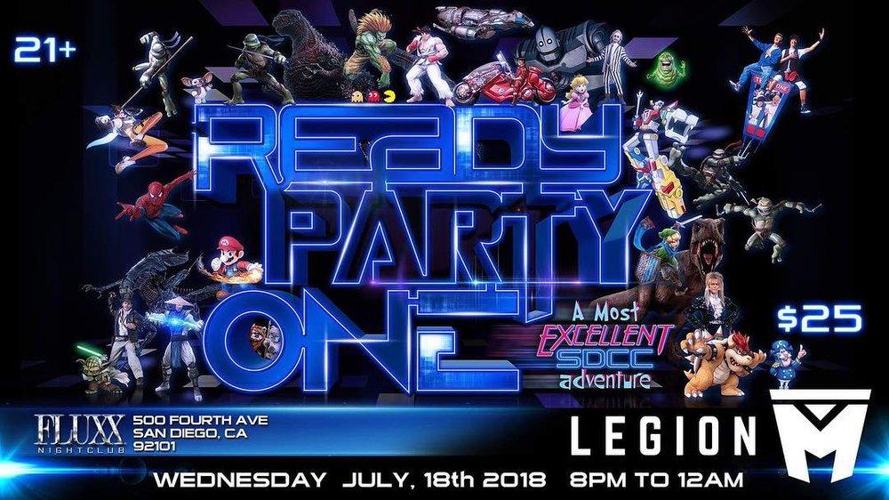 ready party one-legion m