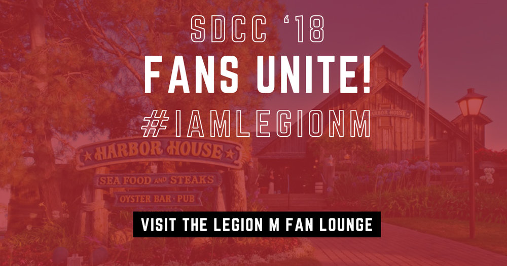 Legion M Fan Lounge
