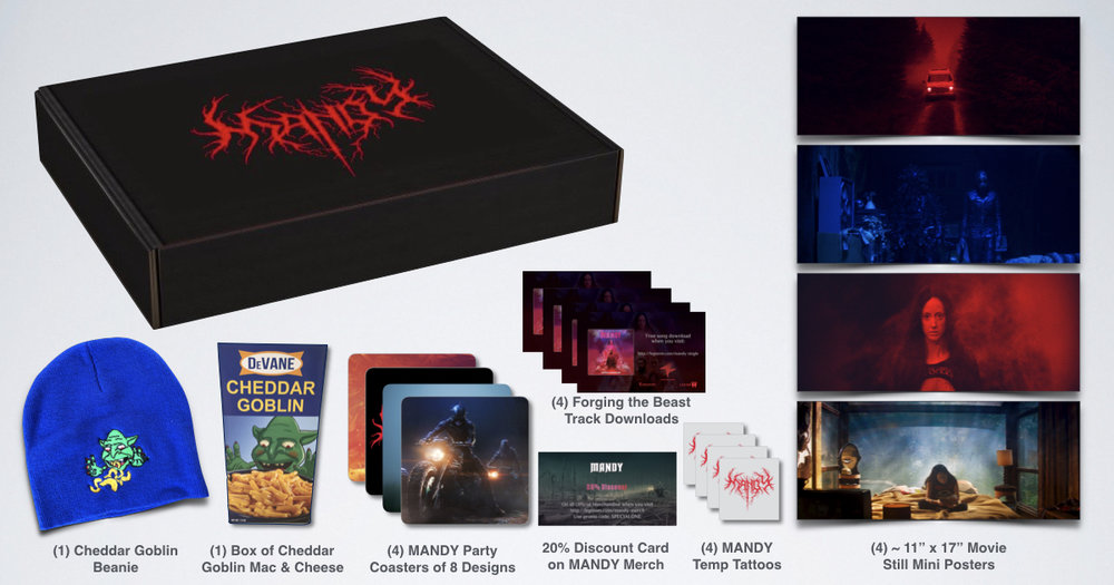 MANDY viewing party box
