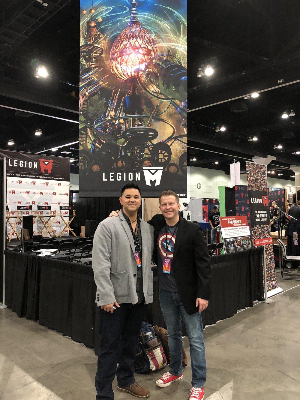 Perry and Erik at LA Comic Con 2018