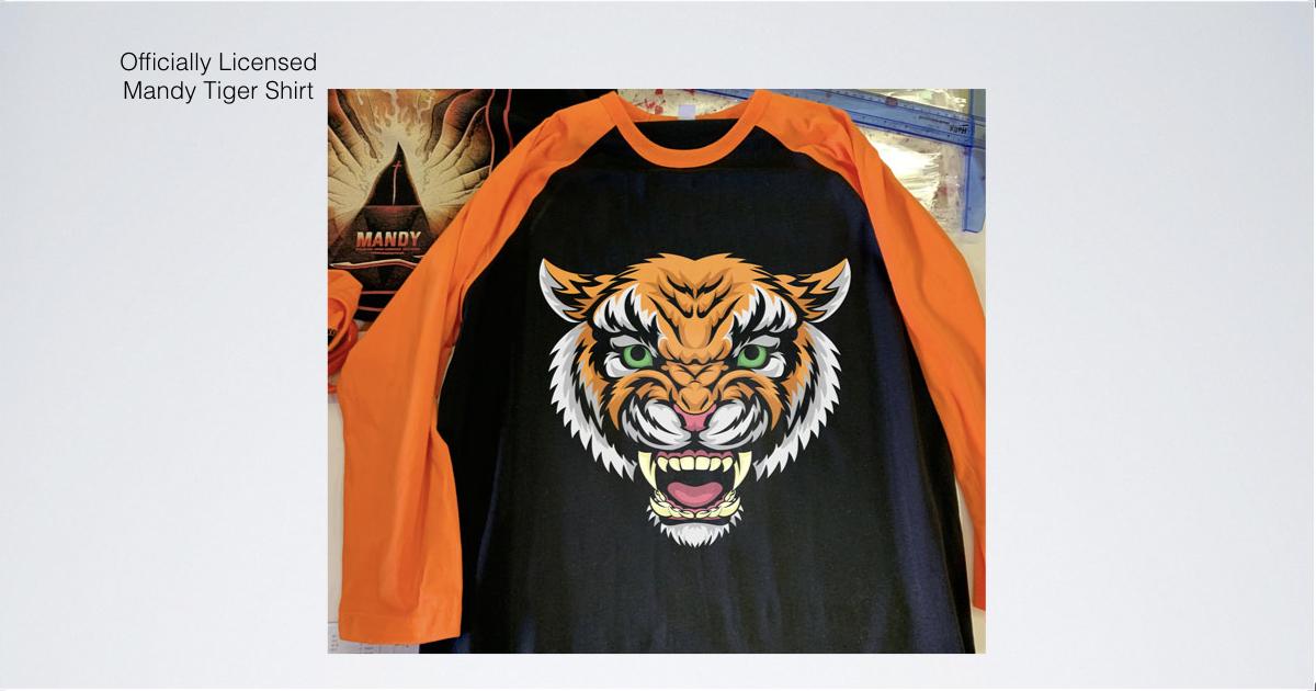6ad701d0 Official MANDY Tiger Shirt (S - 3XL) — Legion M
