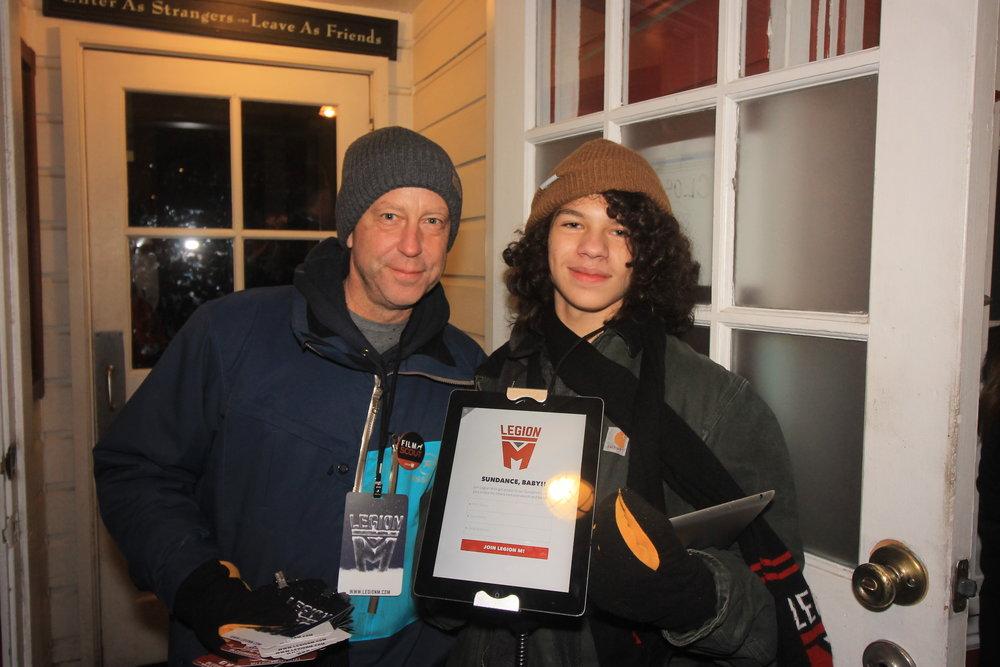 Our incredible door bouncers/volunteers!