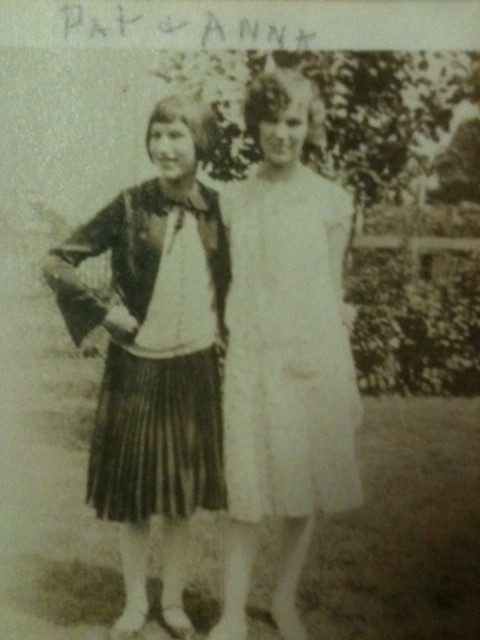 My grandmother and my great aunt, sometime in the late 1920s or early 1930s