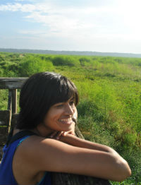 Geetha Iyer received an MFA in Creative Writing & Environment from Iowa State University in 2014. Her writing appears in journals including Orion, Gulf Coast, Ninth Letter, the Mid-American Review,andTerritory, among others. Recognition for her work includes an O. Henry Award, the James Wright Poetry Award, the Calvino Prize, and the Gulf Coast Fiction Prize. She was a 2016 writer-in-residence at the Sitka Center for Art and Ecology. She was born in India, grew up in the United Arab Emirates, and presently lives in Panama.
