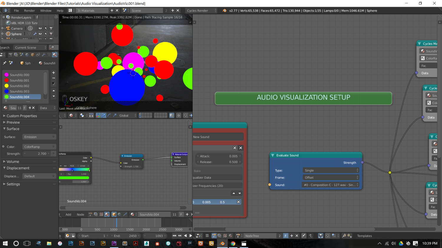 Audio Visualization in Blender 3D: A Quick Tip — ONELVXE