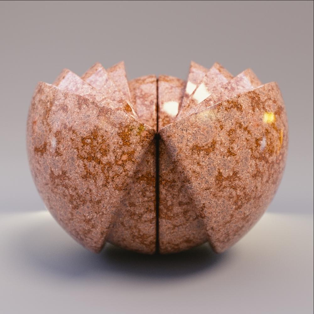 Marble - Orange Granite