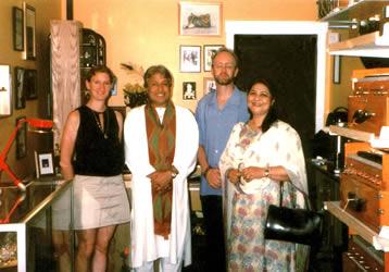 Gita Saulnier, Ustad Amjad Ali Khan & dance great Subbalakshmi