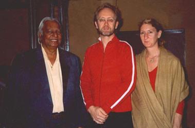 Pt. Ram Narayan and Gita Saulnier