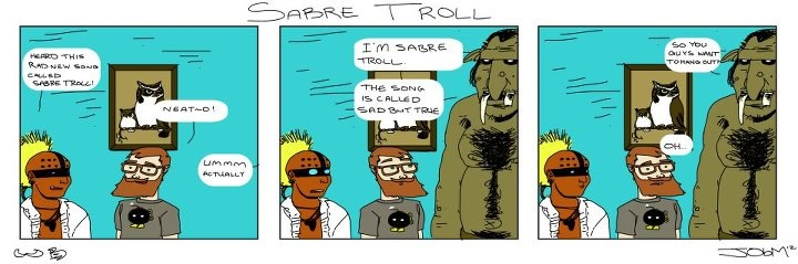 Sabre Troll