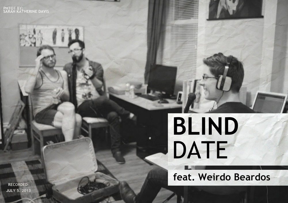 Promo for podcast interview on Blind Date.