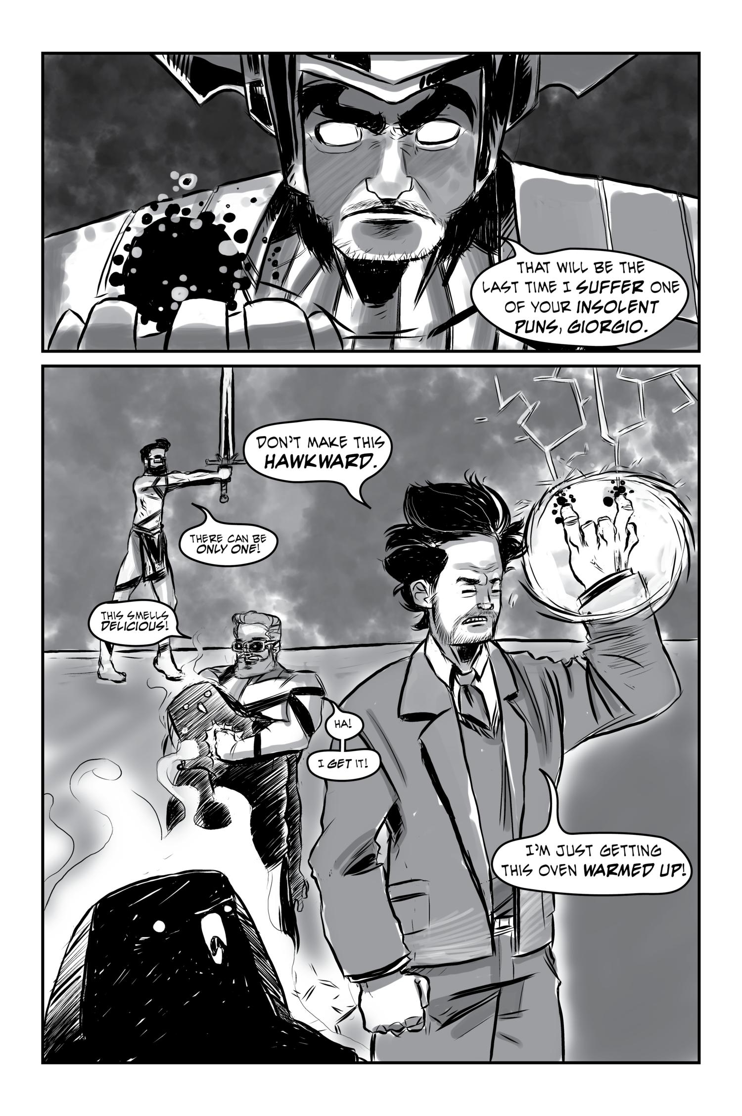 The Beard Gate, Part 11 — Weirdo Beardos