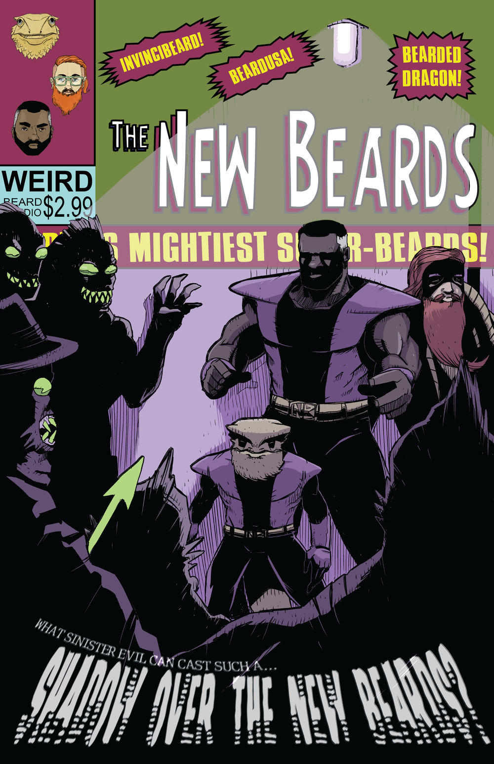 Shadow Over the New Beards Cover