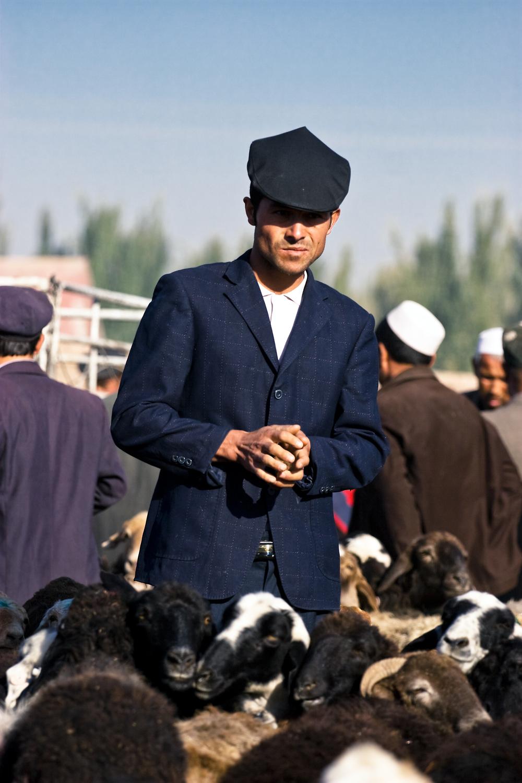 Kashgar Livestock Market Suave Man 2.jpg