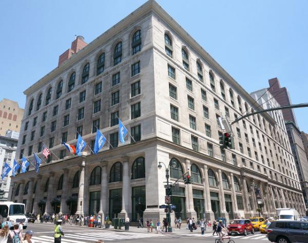 CUNY Graduate Center, New York City, New York. (Wikipedia/Alex Irklievski)