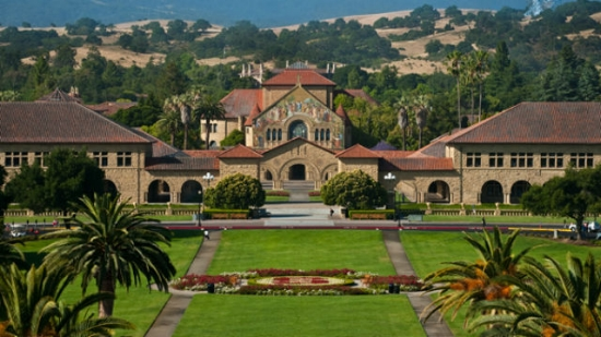 Stanford University campus. Photo: Stanford University.