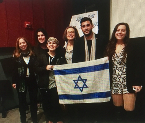 SPACA at Merrick, L.I. with Sharon Freudenstein, President Shoshana Bederman, SSI Columbia's Dalia Zahger & Rudy Rochman, Beth Frieield & Max Frieield .