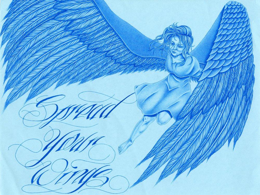 Ruben T.,  Spread Your Wings