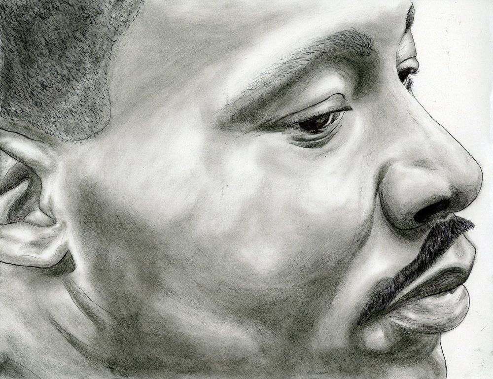 Melvin C.,  Martin Luther King