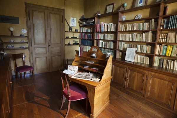 George Sand's writing room at Nohant.