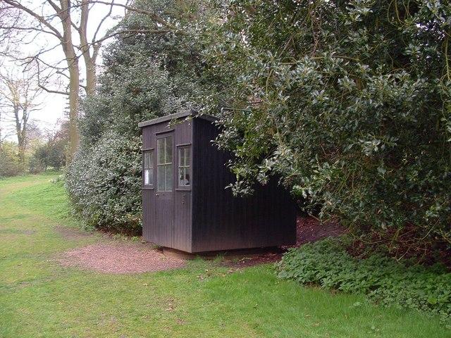 George Bernard Shaw's rotating writing house.