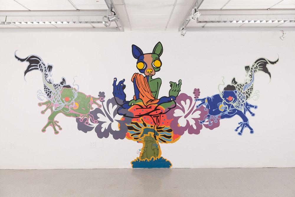 """David D. Oquendo, """" Who Are You?"""" the Caterpillar said, """" (2011)"""