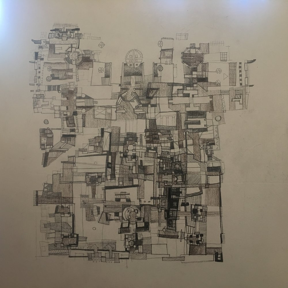 """City Lights,"" Lithograph by Alan Good (2017)"
