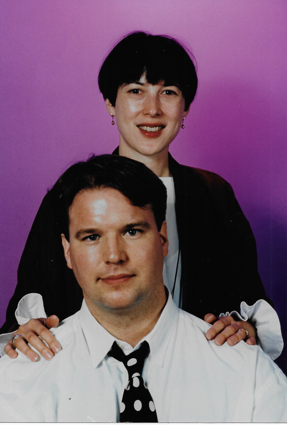 Susan Manno and Alexander Wood, photograph by Neil Winokur, 1994.