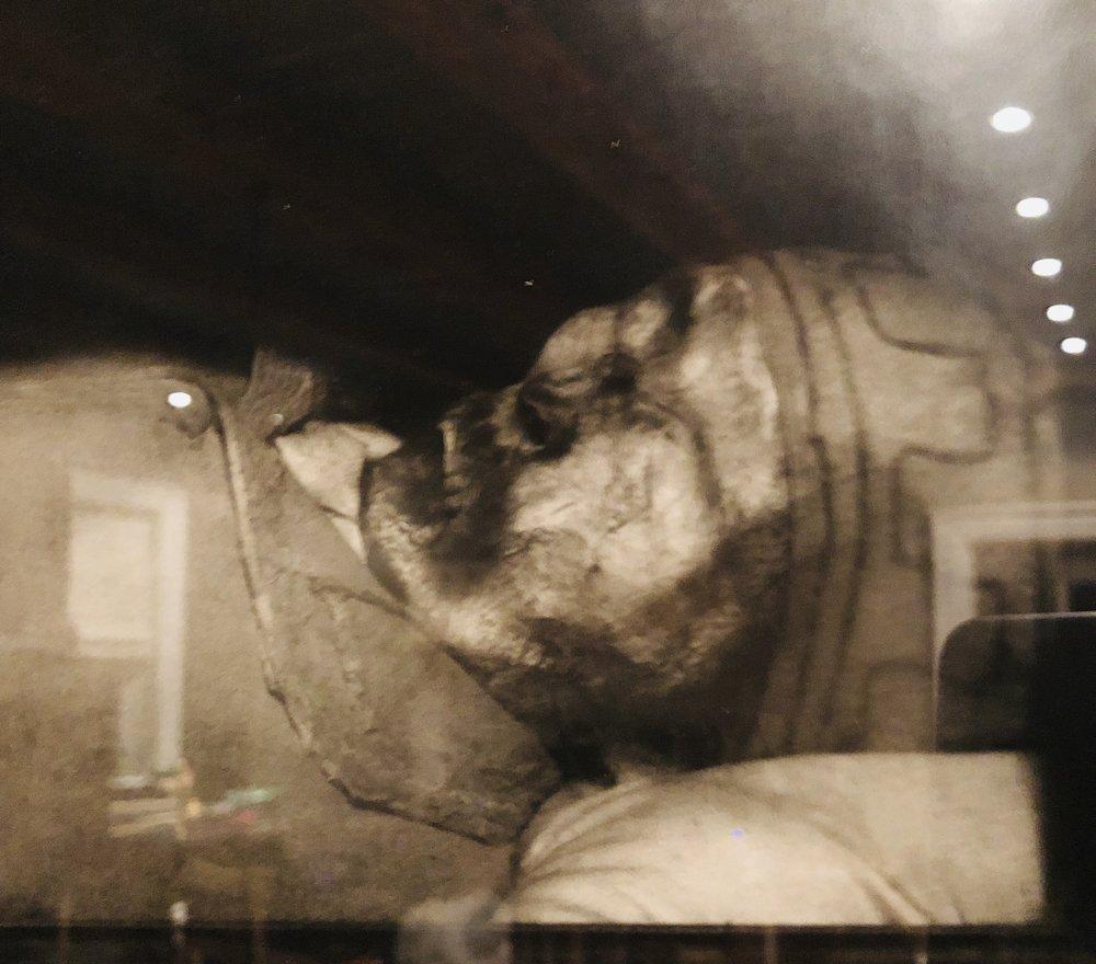 Peter Hujar, Catacomb photograph, 1974-75.