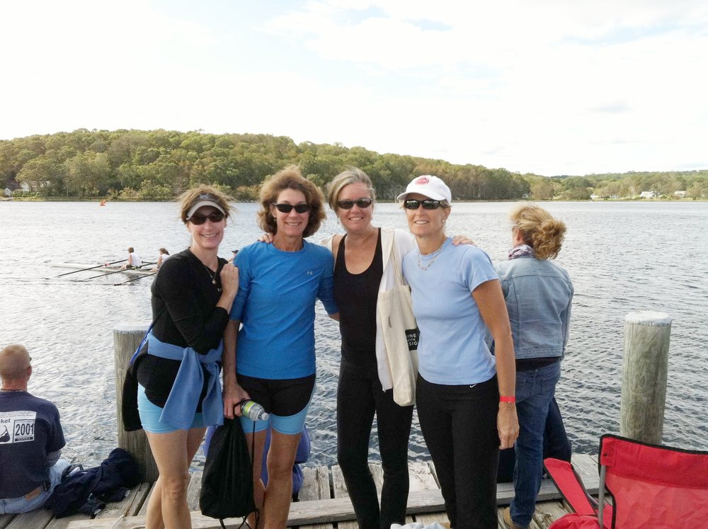 My inspiring friends at the Norwalk Rowing Club!
