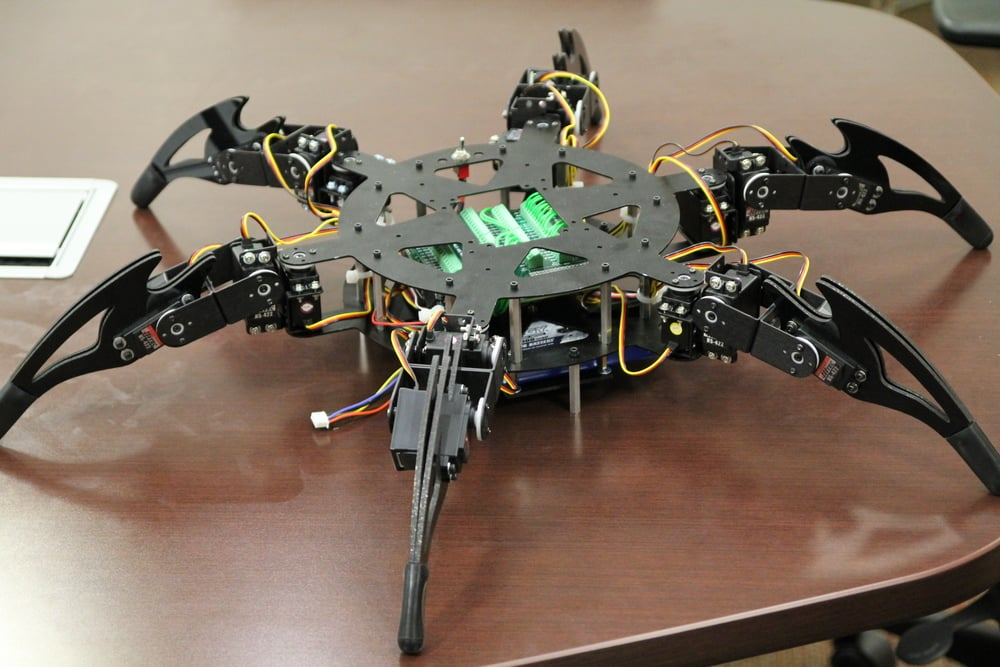 The Lynxmotion CH-3 Hexapod Frame