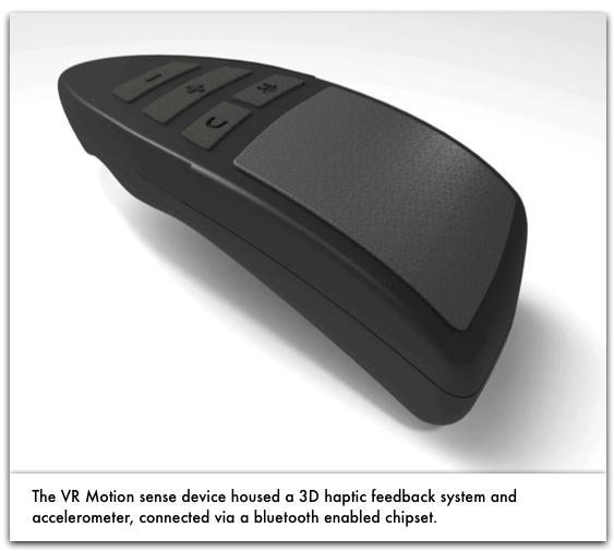 VR Motion Sense Device