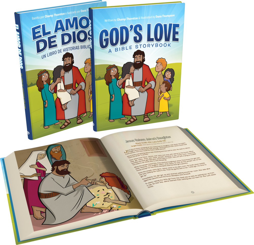 God's Love: A Bible Storybook - In this colorfully illustrated storybook, your children will discover 120 Bible stories highlighting God's love—from before Creation to the death, resurrection, and ascension of Christ. Available by clicking here.Read my interview with Andy Naselli here.Also available in Spanish