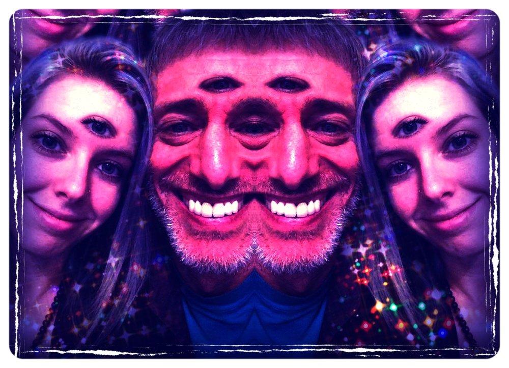 'Magick Sparkled MInd'-- Photoshop
