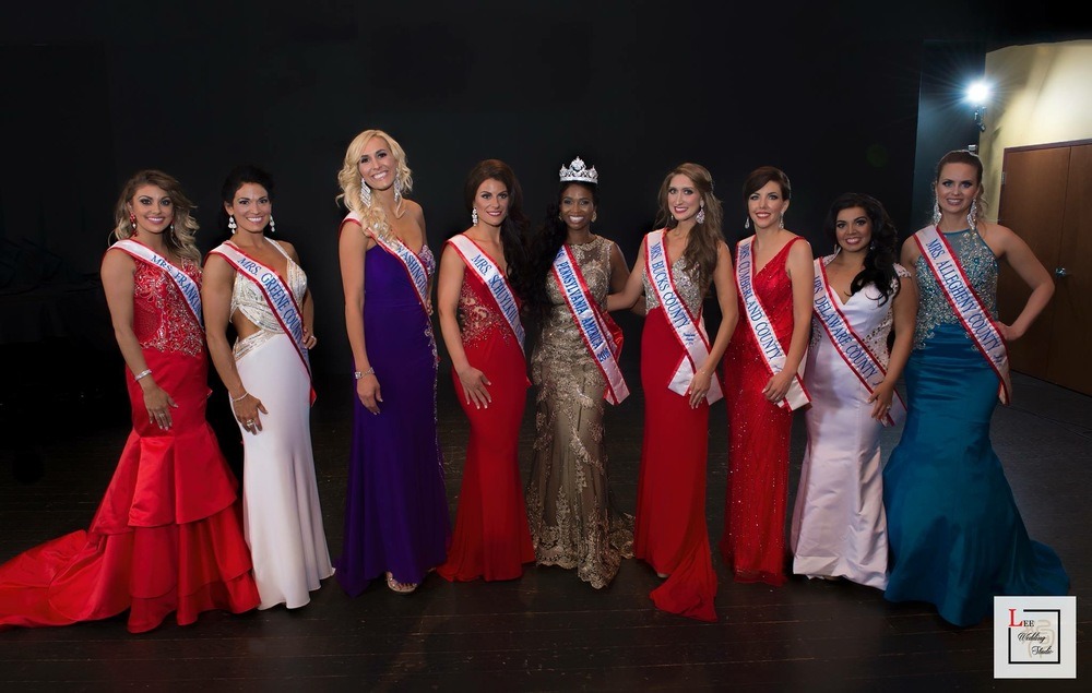 Mrs. PA America 2016 Contestants
