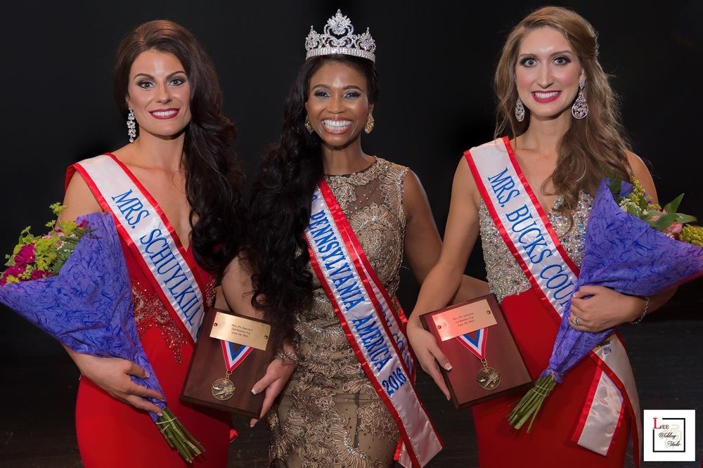 Mrs. Pennsylvania America 2016 Court